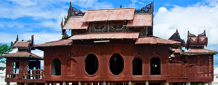 Save Download Preview The Shwe Yaunghwe Kyaung Monastery