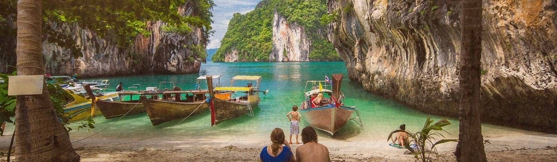 Thailand vacation landscape